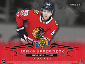 2018/19 Upper Deck Series 2 Hockey Hobby Box (For Pricing Text : UD Pricing To 779-707-5200)