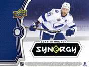 2018/19 Upper Deck Synergy Hockey Hobby Box (For Pricing Text: UD Pricing To 779-707-5200)