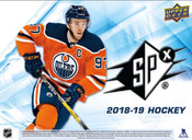 2018/19 Upper Deck SPx Hockey Hobby Box (For Pricing Text : UD Pricing to 779-707-5200)