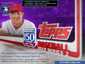 2019 Topps Series 2 Baseball Hobby Box + 1 Silver Pack