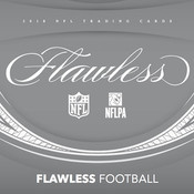 2018 Panini Flawless Football Hobby 2 Box Case