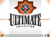2018/19 Upper Deck Ultimate Collection Hockey Hobby Box ( For Pricing Text: UD PRICING to 779-707-5200)