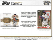 2019 Topps Pro Debut Baseball Hobby 12 Box Case