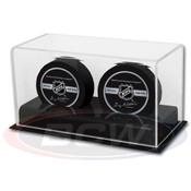 BCW Acrylic Base Double Hockey Puck Display