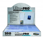 Ultra Pro 9 Pocket Pages (100ct Box) Case of 10 Boxes