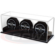 BCW Acrylic Base Triple Hockey Puck Display