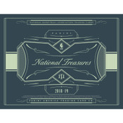 2018/19 Panini National Treasures Basketball Hobby 4 Box Case