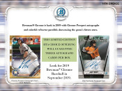 2019 Bowman Chrome Baseball HTA Choice 12 Box Case
