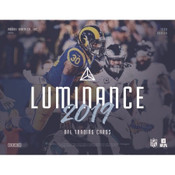 2019 Panini Luminance Football Hobby 12 Box Case