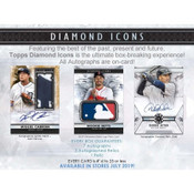 2019 Topps Diamond Icons Baseball Hobby Box