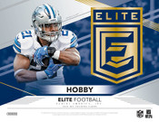 2019 Panini Donruss Elite Football Hobby 12 Box Case