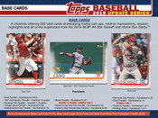 2019 Topps Update Baseball Jumbo 6 Box Case