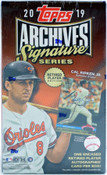 2019 Topps Archives Signature Series Retired Player Edition Baseball Hobby Box