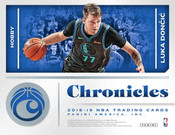 2018/19 Panini Chronicles Basketball Hobby 12 Box Case