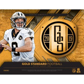 2019 Panini Gold Standard Football Hobby 12 Box Case