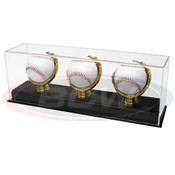 BCW Acrylic Triple Gold Glove Baseball Display