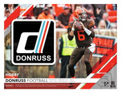 2019 Panini Donruss Football Hobby 18 Box Case