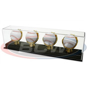 BCW Acrylic 4-Gold Glove Baseball Display