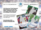 2019 Bowman Draft Super Jumbo 6 Box Case