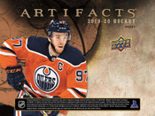 2019/20 Upper Deck Artifacts Hockey Hobby Box (For Pricing Text : UD PRICING To 779-707-5200)