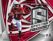 2019 Panini Spectra Football Hobby 8 Box Case