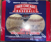 2019 Tristar - 1969 Chicago Cubs Autographed Baseball - LTD RELEASE!