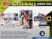 2020 Topps Series 1 Baseball Hobby Jumbo 6 Box Case
