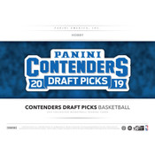 2019/20 Panini Contenders Draft Basketball Hobby 12-Box Case