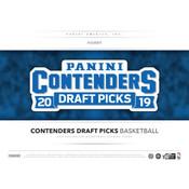 2019/20 Panini Contenders Draft Basketball Hobby 12-Box Case
