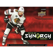 "2019/20 Upper Deck Synergy Hockey Hobby Box (Text "" UD Synergy NHL Pricing"" to 779-707-5200)"