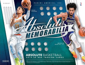 2019/20 Panini Absolute Memorabilia Basketball Hobby 10 Box Case