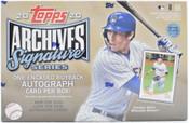 2020 Topps Archives Signature Series (Active) Baseball Box