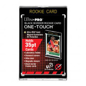 Ultra Pro 35PT Rookie Black Border UV One Touch Magnetic Holder