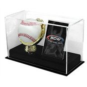 BCW Acrylic Gold Glove and Card Display