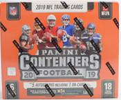 2019 Panini Contenders Football Hobby 12 Box Case