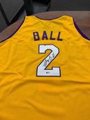 Lonzo Ball Autographed Jersey Beckett COA #5007