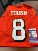 Steve Young Autographed Jersey JSA COA #5009