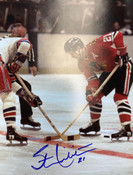 STAN MIKITA Autographed 8x10 - Blackhawks - #5016