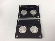 1991/92 Chicago Bulls Back To Back Champions 1 Troy oz .999 Silver Coins #5050