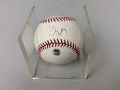 Greg Maddux Autographed ORML Baseball W/cube MLB Certified #5023