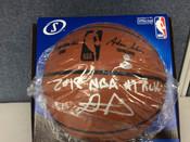 DeAndre Ayton Autographed Spalding Basketball Inscribed #1 Pick #'D 2/22 Steiner COA #5024