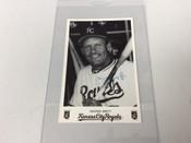 George Brett Kansas City Royals Team Issued Photo Card Stamped Auto #5059