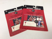 1997 Upper Deck Michael Jordan Premium Oversized 10 Card Set #5059