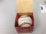 Don Zimmer ORMLB Autographed Baseball #5068