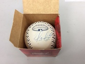 Geovany Soto 08 All Star Game Yankee Stadium Autographed Baseball #5073
