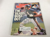 Jim McMahon Autographed Sports Illustrated #5077