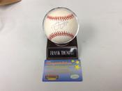 Frank Thomas Official American League Autographed Baseball w/holder COA #5064