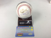 Freddy Garcia 05 World Series Autographed Baseball w/holder COA  #5123