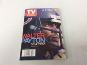 1999 Walter Payton TV Guide A Tribute #5113