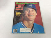Dale Murphy Autographed 1983 Sports Illustrated #5083